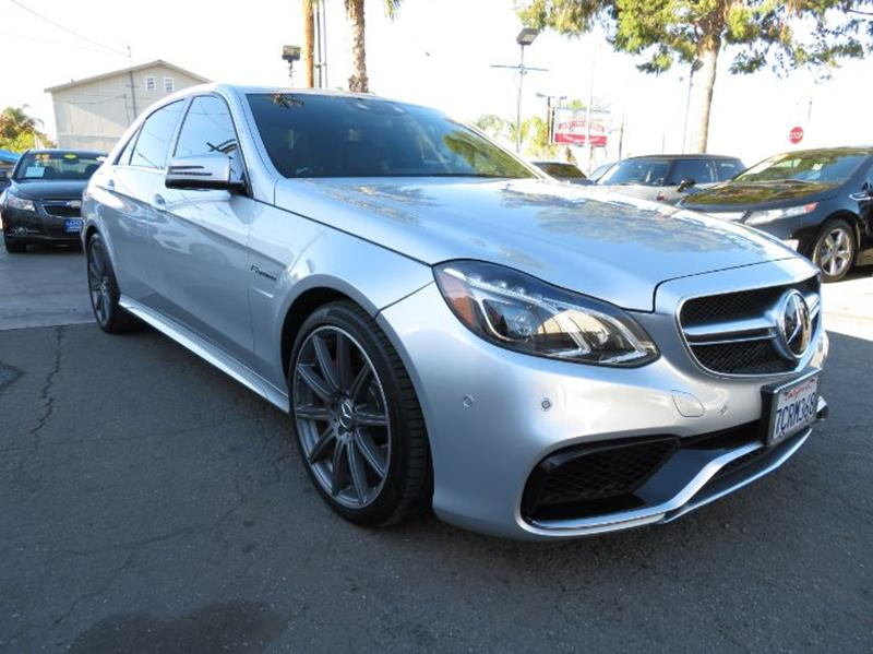 2014 Mercedes-Benz E-Class E 63 AMG S Model AWD 4MATIC