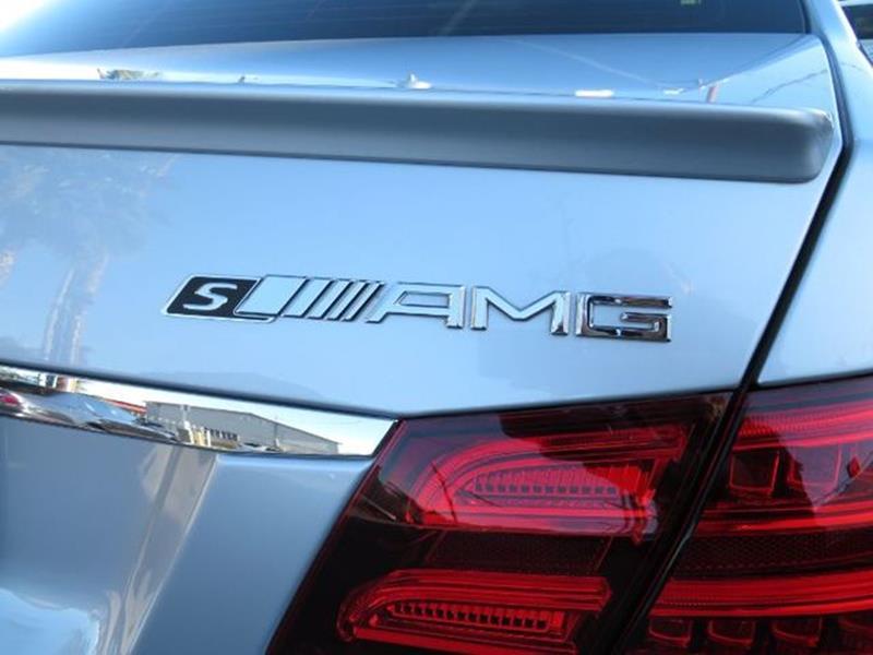 2014 Mercedes-Benz E-Class E 63 AMG S Model AWD 4MATIC
