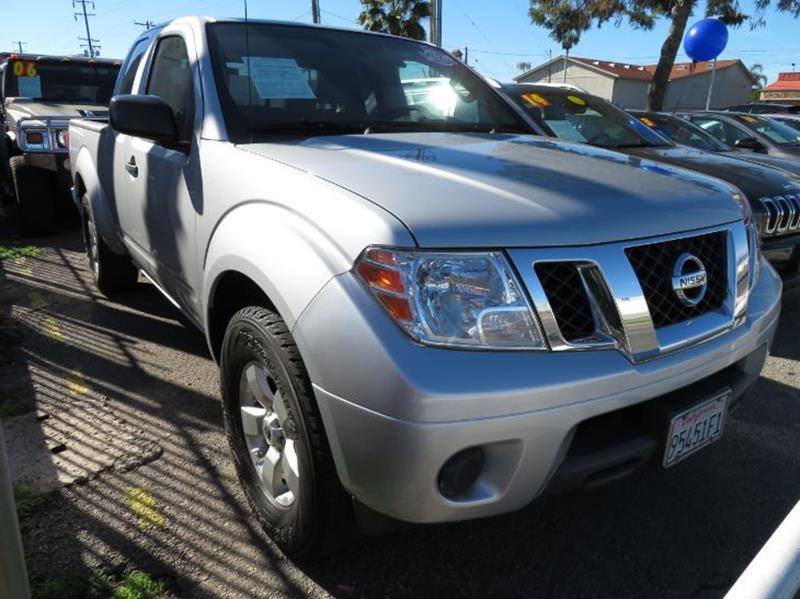 2012 Nissan Frontier SV V6 4x2 4dr King Cab Pickup 5A