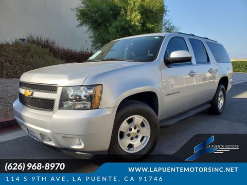 2013 Chevrolet Suburban for sale in La Puente, CA