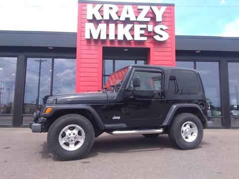 2000 Jeep Wrangler for sale in Altoona, WI