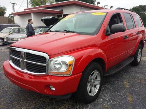 2005 Dodge Durango for sale at Global Auto Sales in Hazel Park MI