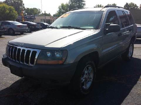 2002 Jeep Grand Cherokee for sale at Global Auto Sales in Hazel Park MI