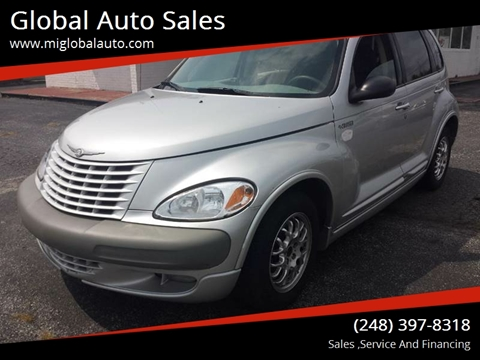 2002 Chrysler PT Cruiser for sale at Global Auto Sales in Hazel Park MI