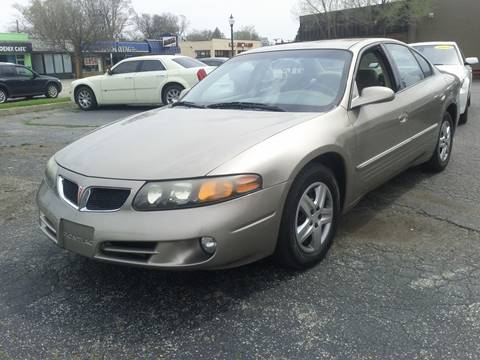 2003 Pontiac Bonneville for sale at Global Auto Sales in Hazel Park MI