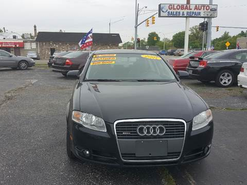 2007 Audi A4 for sale at Global Auto Sales in Hazel Park MI