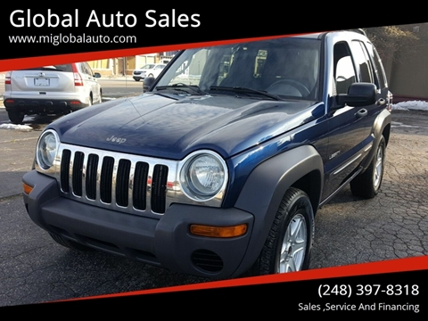 2004 Jeep Liberty for sale at Global Auto Sales in Hazel Park MI