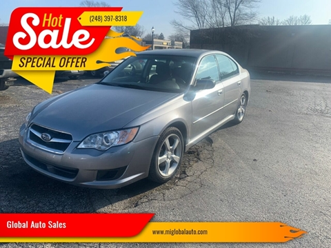 2009 Subaru Legacy for sale at Global Auto Sales in Hazel Park MI