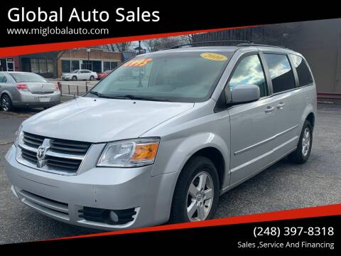 2010 Dodge Grand Caravan for sale at Global Auto Sales in Hazel Park MI