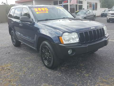 2005 Jeep Grand Cherokee for sale at Global Auto Sales in Hazel Park MI