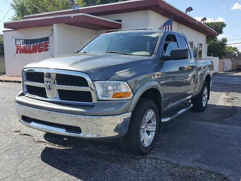 2009 Dodge Ram Pickup 1500 for sale at Global Auto Sales in Hazel Park MI