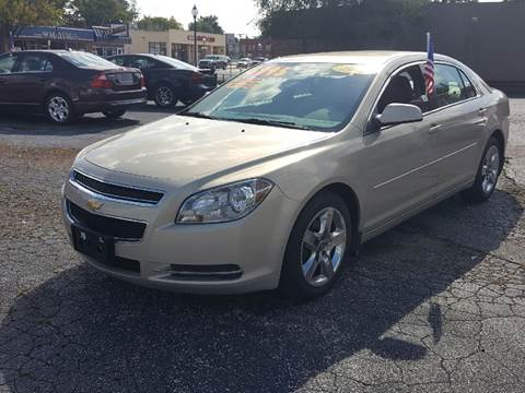 2010 Chevrolet Malibu for sale at Global Auto Sales in Hazel Park MI