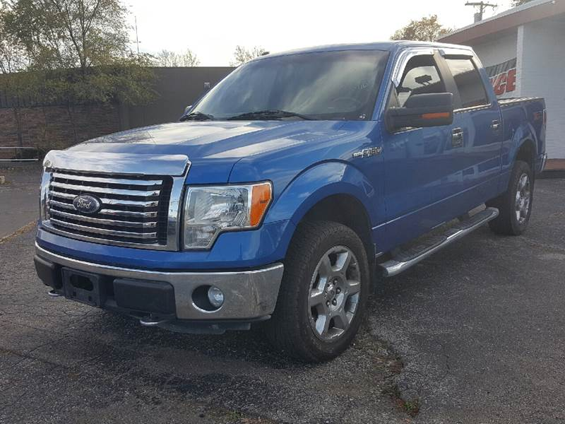2011 Ford F-150 for sale at Global Auto Sales in Hazel Park MI