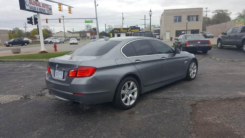 2011 BMW 5 Series AWD 550i xDrive 4dr Sedan - Hazel Park MI
