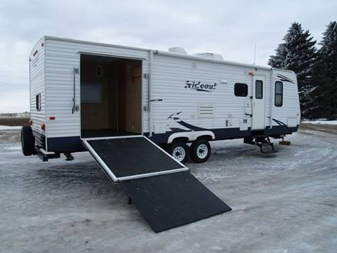 2009 Keystone 8X30 ft SRS Hideout Toyhauler for sale in Madison, SD