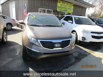 2012 Kia Sportage for sale in Uniontown, PA