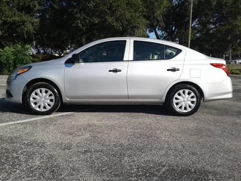 2015 Nissan Versa for sale in Valrico, FL
