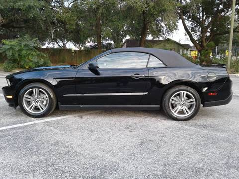 2010 Ford Mustang for sale in Valrico, FL