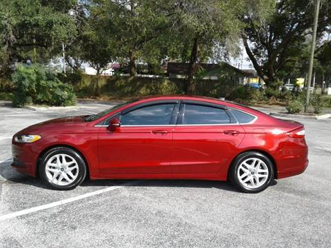 2014 Ford Fusion for sale in Valrico, FL