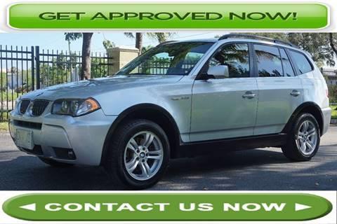 2006 BMW X3 for sale in Hallandale Beach, FL