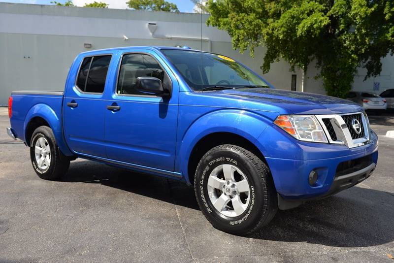 sv inventory pickup owned crew rwd used frontier cab hilo in pre certified nissan