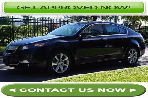 2011 Acura TL for sale in Hallandale Beach, FL