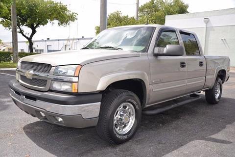 2003 Chevrolet Silverado 1500HD for sale in Hallandale Beach, FL