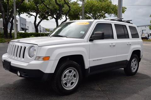 2013 Jeep Patriot for sale in Hallandale Beach, FL