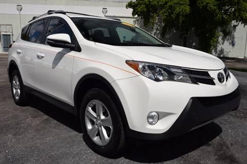 2013 Toyota RAV4 for sale in Hallandale Beach, FL