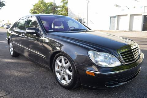 2005 Mercedes-Benz S-Class for sale in Hallandale Beach, FL