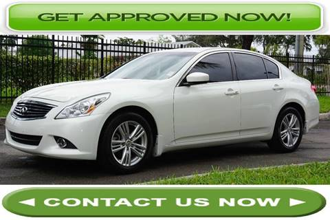 2010 Infiniti G37 Sedan for sale in Hallandale Beach, FL