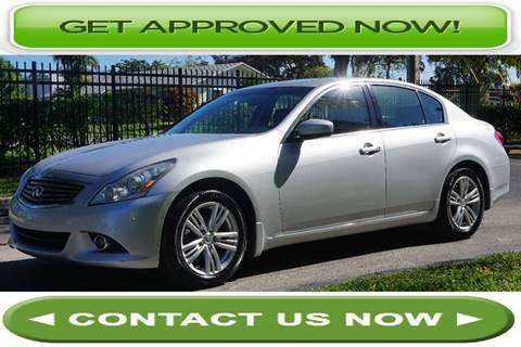 2011 Infiniti G25 Sedan for sale in Hallandale Beach, FL