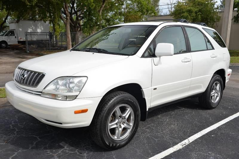 2002 Lexus RX 300 For Sale At Best Price Car Dealer In Hallandale Beach FL