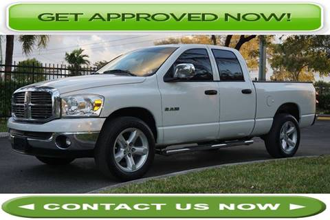 2008 Dodge Ram Pickup 1500 for sale in Hallandale Beach, FL