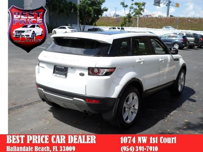 Used 2013 Land Rover Range Rover Evoque Best Price Dealer