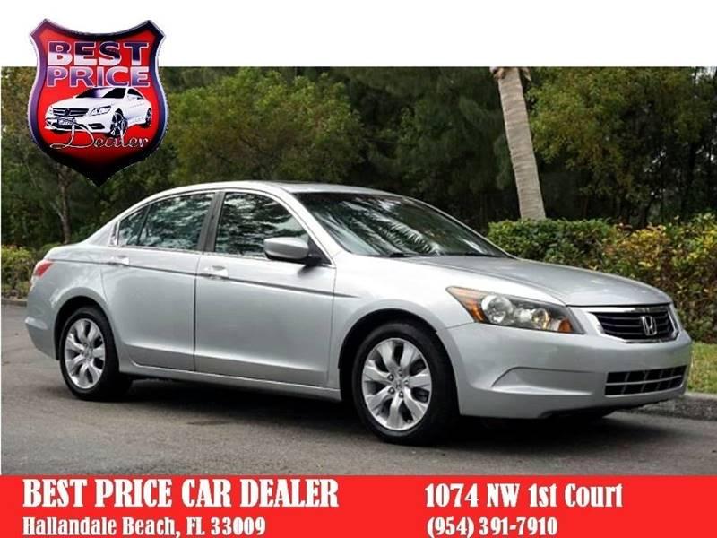 2009 Honda Accord For Sale At Best Price Car Dealer In Hallandale Beach FL