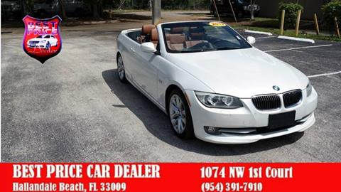 2013 BMW 3 Series for sale in Hallandale Beach, FL