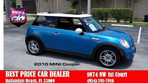 Used Mini Cooper For Sale In Florida Carsforsalecom