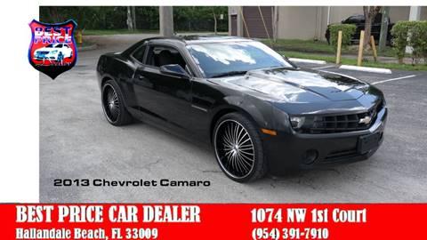Chevrolet Camaro For Sale in Hallandale Beach, FL - Best