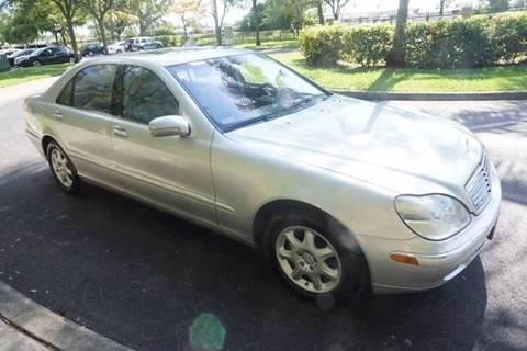 2002 Mercedes-Benz S-Class for sale in Hallandale Beach, FL