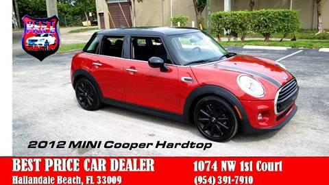 2016 MINI Hardtop 4 Door for sale in Hallandale Beach, FL