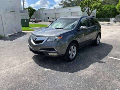 2010 Acura MDX for sale at Best Price Car Dealer in Hallandale Beach FL