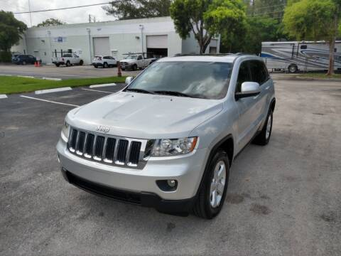 2012 Jeep Grand Cherokee for sale at Best Price Car Dealer in Hallandale Beach FL