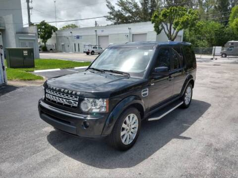 2013 Land Rover LR4 for sale at Best Price Car Dealer in Hallandale Beach FL