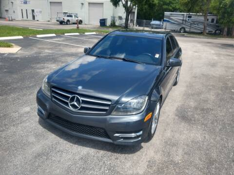 2014 Mercedes-Benz C-Class for sale at Best Price Car Dealer in Hallandale Beach FL