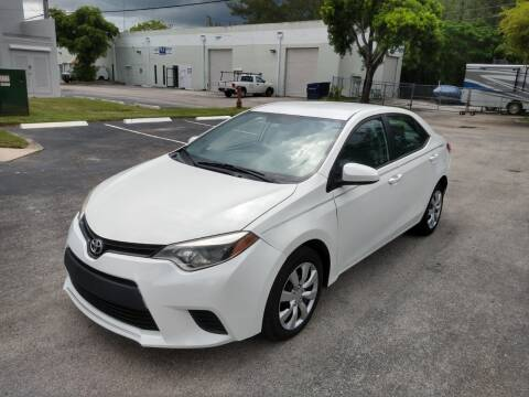 2014 Toyota Corolla for sale at Best Price Car Dealer in Hallandale Beach FL