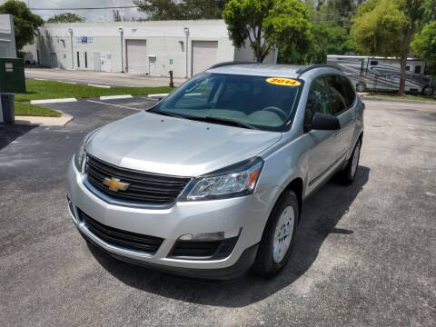 2014 Chevrolet Traverse for sale at Best Price Car Dealer in Hallandale Beach FL