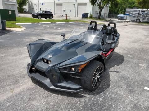 2016 Polaris Slingshot for sale at Best Price Car Dealer in Hallandale Beach FL