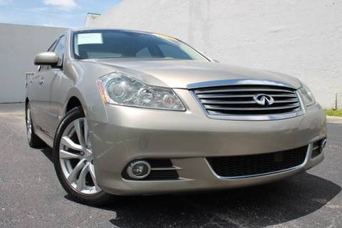 2009 Infiniti M35 for sale in Hallandale Beach, FL
