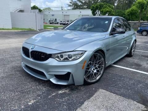 2017 BMW M3 for sale at Best Price Car Dealer in Hallandale Beach FL